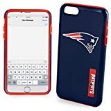New England Patriots Impact TPU 2-Piece Dual Hybrid iPhone 8 PLUS / iPhone 7 PLUS / iPhone 6 PLUS / 6s PLUS - 5.5