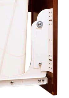 Mount Door Kit - Door Mounting Kit for Wire RV Waste Container