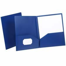 Esselte Pendaflex Corporation Products - Polypropylene Twin Pocket Portfolio, 8-3/4