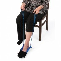 Achieva Sock Assist with 2-Cord Handles by North Coast Medical