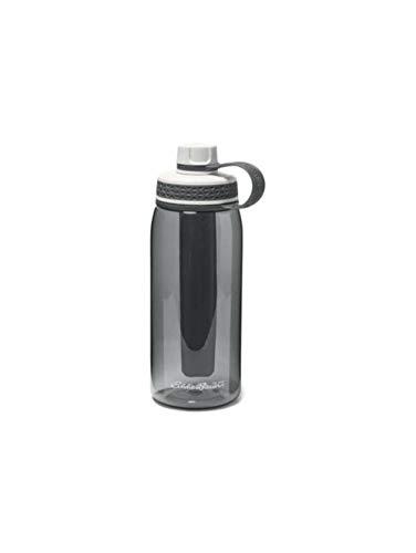 Eddie Bauer Unisex-Adult Freezer Water Bottle - 32 oz, Smoke Regular ()