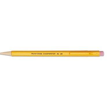 Paper Mate Sharpwriter Mechanical Pencils, 0.7mm-Yellow-12 ct, 2 pk (Pencil Sharpwriter Mechanical)