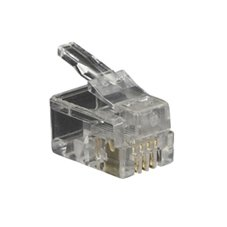 Plugs Handset Mod - Black Box Network Services Rj-22 Snap-on Modular Plugs Handset Mod