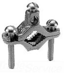 Pipe Ground Clamp, 10AWG, 6.25In by Burndy