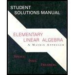 Elementary Linear Algebra : Matrix Approach, Freidberg, H., 0130257516