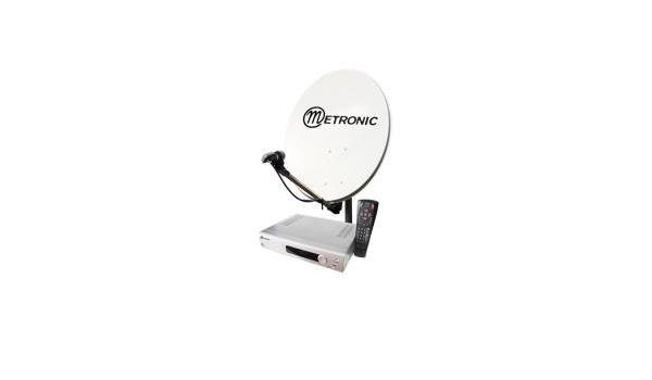 Metronic 428320 - Kit satélite digital FTA + TDT, color negro ...