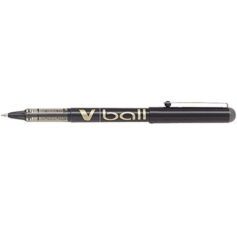 Pilot BL-VB7-B - Bolígrafo , Tinta Líquida, 0.7, Negro, Pack de 12 ...