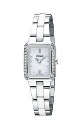 Pulsar 2-Hand Ceramic and Stainless Steel Women's watch #PEGG07