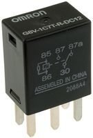 OMRON ELECTRONIC COMPONENTS G8V-1C7T-R-DC12 MICRO AUTOMOTIVE RELAY, SPDT, 12VDC, 20A (10 pieces)