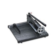 Commercial Stack Paper Cutter, 350 Sheet Capacity, Wood Base, 16 x - Paper Commercial Stack Cutter