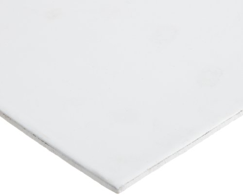 Expanded PTFE Sheet Gasket, White, 1/8'' Thick, 30'' × 30'' (Pack of 1) by Small Parts