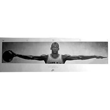 Amazon.com: (72x23) Michael Jordan (Wings Door) Sports Poster Print ...