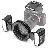 Meike MK-MT24S Macro Twin Lite Flash for Sony A9 A7III A7RIII and other MI Hot Shoe Mount Mirrorless Cameras