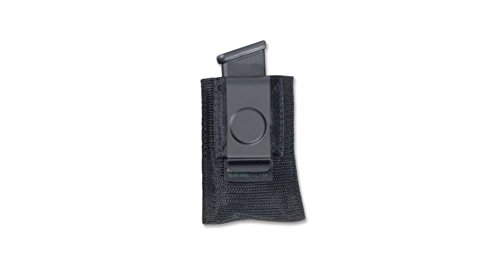 UPC 724679210224, Elite Survival Systems Single Open Mag Pouch w/Clip for Single Column 9mm/40/45 cal Mag -