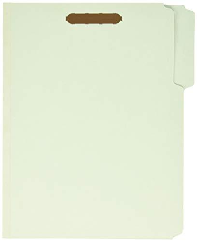 (Pendaflex Pressboard Fastener Folders, 2 Fasteners, Letter Size, Light Green, 1