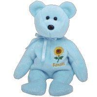 TY Beanie Baby - KANSAS SUNFLOWER the Bear (Show Exclusive)