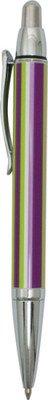ballpoint pen-Audrey-Stripe black ink. Refillable with standard pen refill WE925