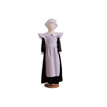 Millie Maid (Victorian/Edwardian) - Kids Costume (12-13 years) by A2Z Kids