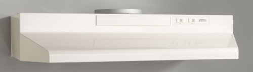 24-Inch Broan F402404 Two-Speed Four-Way Convertible Range Hood Stainless Steel