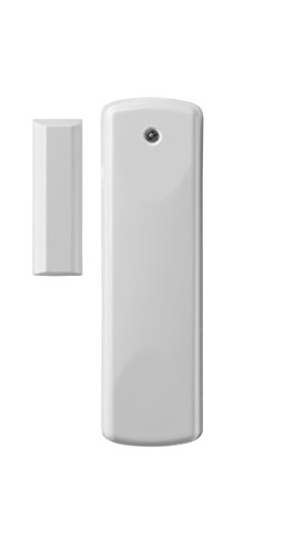 Ecolink Intelligent Technology Z-Wave Easy Install, Battery Operated, White & Brown (DWZWAVE2-ECO)