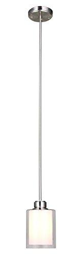Design House 567214 Oslo 1 Light Mini Pendant, Satin ()