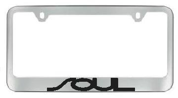 SOUL Chrome License Plate Frame product image