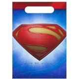 Superman Man of Steel Goody Bags - 8 Count