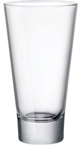 Bormioli Rocco Ypsilon 15.25 Ounce Party Cooler Glass, Set of 4