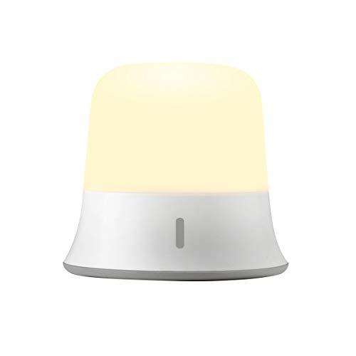 Luz de Noche, Joly Joy LED Luz Nocturna 3W Impermeable IP65 Regulable Blanco Cálido [Cargar USB & Sensor de Tacto] Lámpara...
