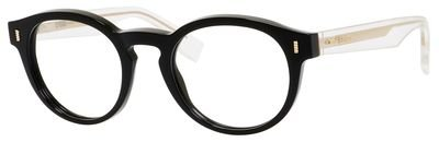 FENDI Eyeglasses 0028 0Ypp Black / Crystal - Fendi Frame