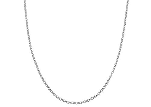 nd Cut Anchor/Cable Chain Necklace- Available in Yellow, White Or Rose -14