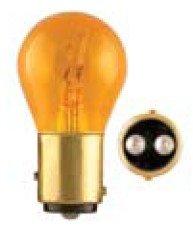 Ge Miniature Lamps Bulb No. 2057na-Bp 12 V Amber 2 / Carded