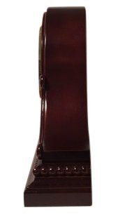 Vmarketingsite Decorative Mantel Clock with Westminster Chime, 9'' x 16'' x 3'', Walnut by Vmarketingsite (Image #2)