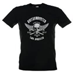 ChromaCast CC-GM-T-2XL GuitarMonster Black T-Shirt, 2XL