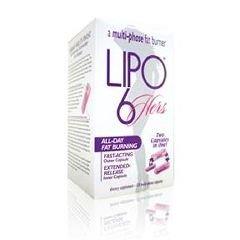 LIPO-6 Supplément perte de poids rapide pour les femmes - Bouteille de 120