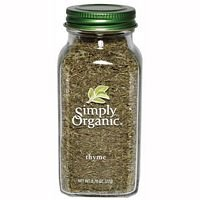 Simply Organic Thyme Leaf .78 Oz (Pack of 3) - Pack Of 3
