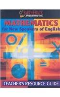 Mathematics for New Speakers of English Teacher's Resource