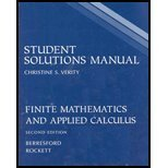 Finite Mathematics and Applied Calculus, , 0618372148