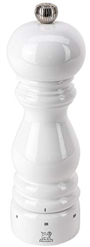 Peugeot 27810 Paris U'Select Salt Mill, 7-Inch, White Lacquer ()