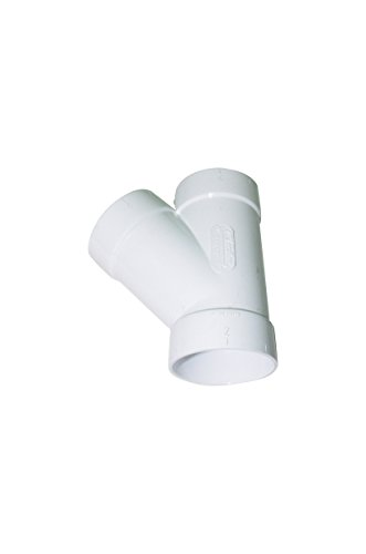 ZVac Replacement Central Vacuum Cleaner Compatible Sweep Y WYE 3 Way Connector Fitting for All Central Vacuum Systems Including Aggresor Airvac AstroVac Beam Cana-Vac Cirrus DuoVac Dustcare