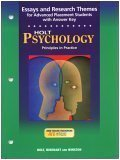 Psychology, Holt, Rinehart and Winston Staff, 0030646596
