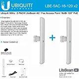 Ubiquiti LBE-5AC-16-120 5GHz 2-PACK LiteBeam AC 11ac Access