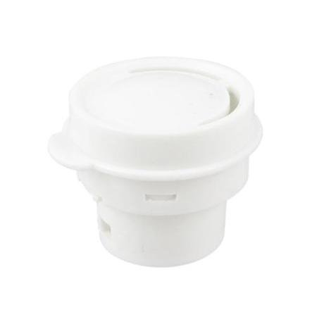 Home Kitchen White Plastic Steam Release Valve Spare Part for Rice Cooker