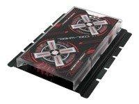 Hard Drive Cooling System - Evercool HD-CW Cool Wheel Hard Drive Cooler (Black Cover, Red Fan) SKU: HD-CW