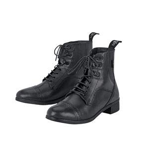 Saxon Childs Syntovia Lace Paddock Boot 5 Black ()