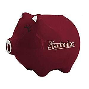 NCAA Florida State Seminoles Ceramic Piggy Bank