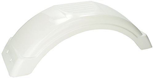 Fulton 008541 White Plastic Fender for 8