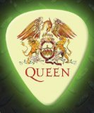 Printed Picks Company Queen 5 X Glow In The Dark Premium Guitar Picks