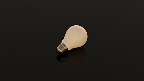 Home Comforts Canvas Print Incandescent Electricity Energy Bulb Light Lamp Stretched Canvas 10 x 14