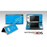 Doraemon Sky Blue Limited Edition VINYL SKIN STICKER DECAL COVER for Nintendo 3DS Console System